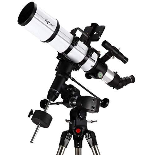 MAZ Longitud focal 600Mm, alcance del telescopio del refractor del telescopio, película verde multicapa con montaje ecuatorial