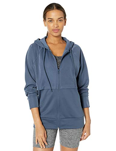 Under Armour Synthetic Fleece FZ Mirage Chaqueta, Mujer, Gris, LG