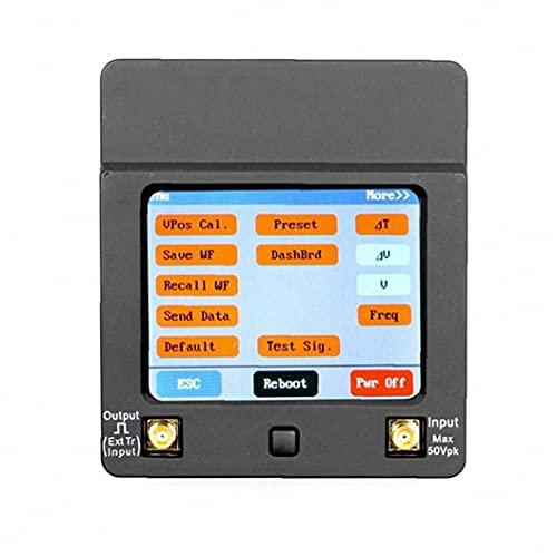 Kit osciloscopio de almacenamiento portátil Mini digital de mano osciloscopio Mini Almacenamiento osciloscopio Negro Herramienta