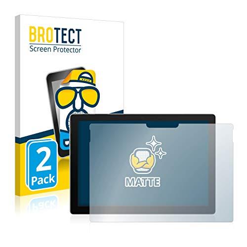 BROTECT 2X Entspiegelungs-Schutzfolie kompatibel mit Microsoft Surface Pro 7 Bildschirmschutz-Folie Matt, Anti-Reflex, Anti-Fingerprint