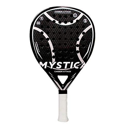 Mystica - Carbon Attack LTD, Pala de Pádel para Jugadores de Nivel Profesional Avanzado, Fabricado en Carbono