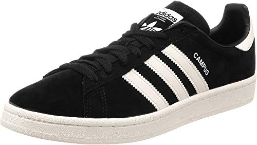 Adidas Campus, Zapatillas de Gimnasia para Hombre, Negro (Core Black/FTWR White/Crystal White Core Black/FTWR White/Crystal White), 36 EU