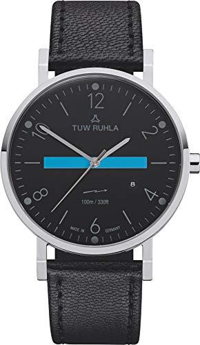 TUW Ruhla Thuringia Quartz 60140-021602A Orologio da polso uomo Classico semplice