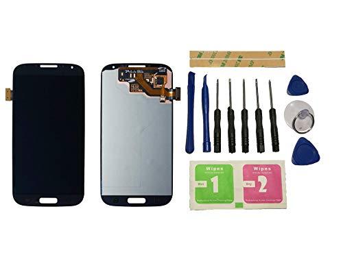 Flügel für Samsung Galaxy S4 i9500 i9505 i337 M919 Display LCD Ersatzdisplay Schwarz Touchscreen Digitizer Bildschirm Glas Assembly (ohne Rahmen) Ersatzteile & Werkzeuge & Kleber