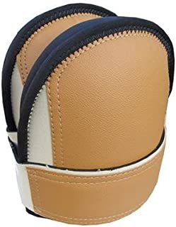 TROXELL USA - Supersoft XL Leatherhead Kneepads - Beige, Bagged in Pairs