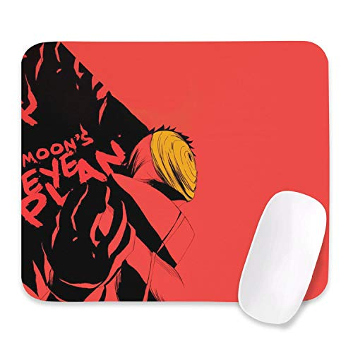 Uchiha Sharingan Naruto Art Custom Mouse Pad Large Gaming Anime Mouse Pads Laptop and Pc Non-Slip Cool Rubber Base Mouse Mat for Home Office (10.512.5inch)