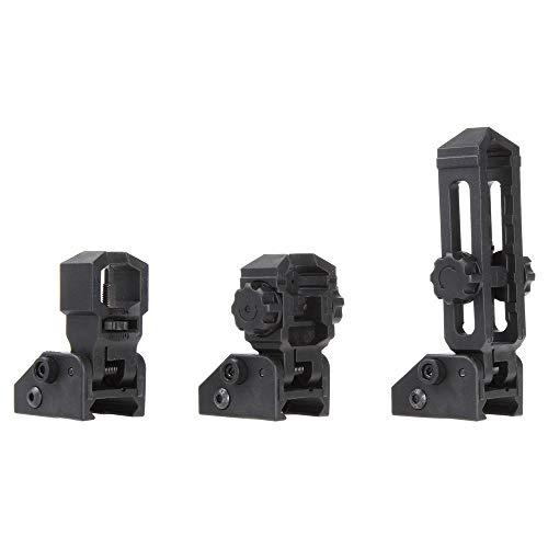 WORKER Folding Sight 3PCS Decoration Kits for Nerf Rail Mount Modify Toy