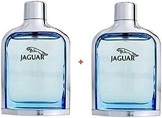 Set of 2 Jaguar Classic Blue Eau de Toilette for Men 100 ml