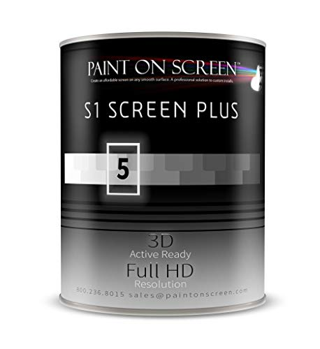 Paint On Screen – S1 Projector Screen Plus