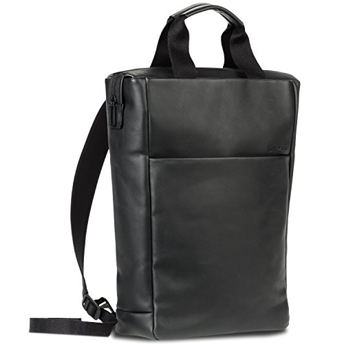 Salzen Redefined Classic Tote Backpack 39 cm total Black