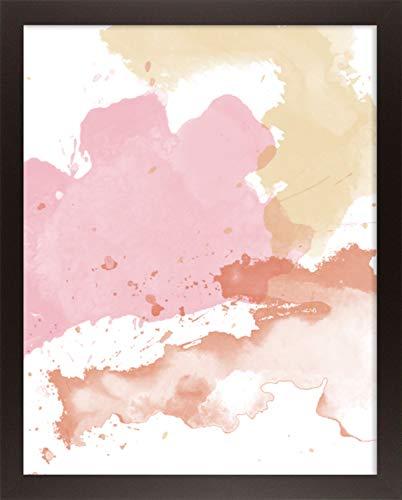 Home decoratie Misano rand Photo Frame 14,2x24 Inch (36 x 61 cm) met Antireflectieve Kunststof Glas Perspex 24x14,2 Inch Fotolijst Kleur Beuken Decor