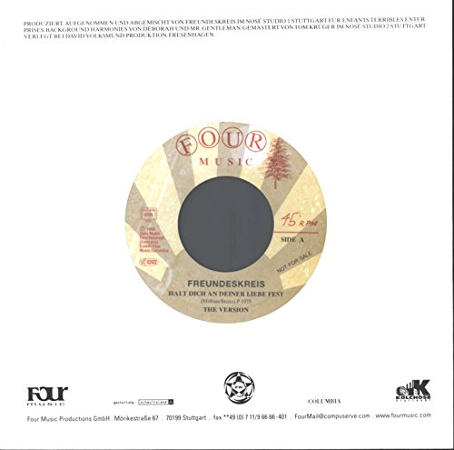 Halt Dich An Deiner Liebe Fest [Vinyl Maxi-Single]
