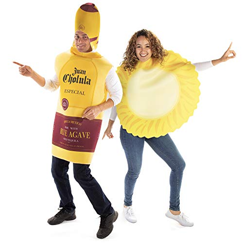 Tequila Sunrise Halloween Couples Costume - Funny Adult Drink & Sun Outfit