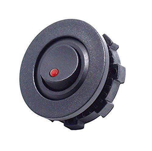 Lanrui Bricolaje CAMIÓN DE Carro Ciclo Ciclo Rocker Toggle Switch Espalda Control on-Off con el Interruptor de la Carcasa Verde Rojo Azul DIRIGIÓ Desmayo (Color : Red)
