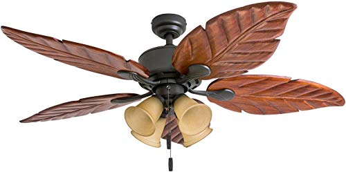 Honeywell Ceiling Fans 50503-01 Royal Palm 52' Ceiling Fan,...