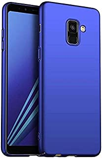 Funda Compatible con Samsung Galaxy A8 2018.KunyFond Carcasa Ultra Delgado 360 Grados PC Rígido Carcasa Back Cover Ligero ...
