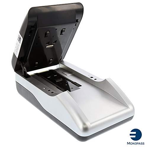 Détecteur de faux billets automatique MONEPASS - Certifié 10