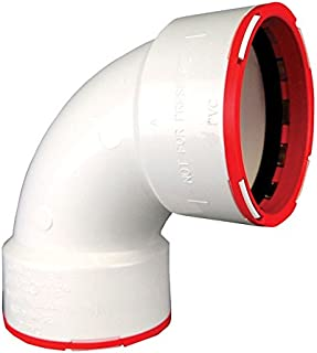 Charlotte Pipe & Found Ctt 300 1200ha Bend Elbow, Pvc, White (Pack Of 10)
