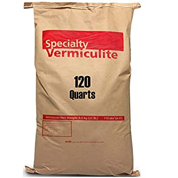 EasyGoProdcuts Vermiculite 120 Quarts – 4 Cubic Foot of Organic Planting Soil Additive - Incubator