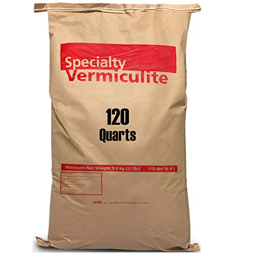 EasyGoProdcuts Vermiculite 120 Quarts – 4 Cubic Foot of...