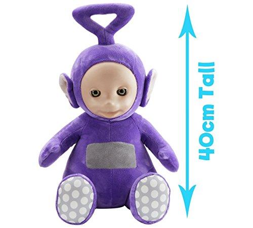 Giant Talking Tinky Winky. Squeeze Tinky Winky Ultra douce de la main de pour l'entendre rire et parler. Ce jouet Mesure 40cm de haut.