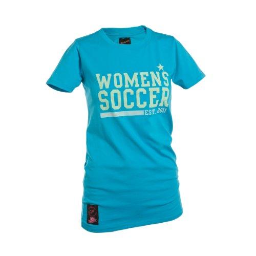 Ballzauber 3 - T-Shirt da Donna, Blu (Blu), L
