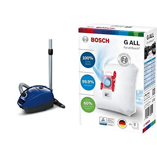 Bosch BGL3B110 Bodenstaubsauger GL-30 + BBZ41FGALL Power Protect Staubsaugerbeutel Typ G All