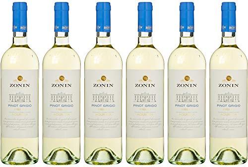 Zonin Pinot Grigio DOC / Trocken (6 x 0.75 l)