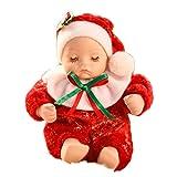 OUTEYE Weihnachtskeramik-rote Socken-Musical Box Christmas Baby-Spieluhr Geburtstags-Geschenk für Kinder