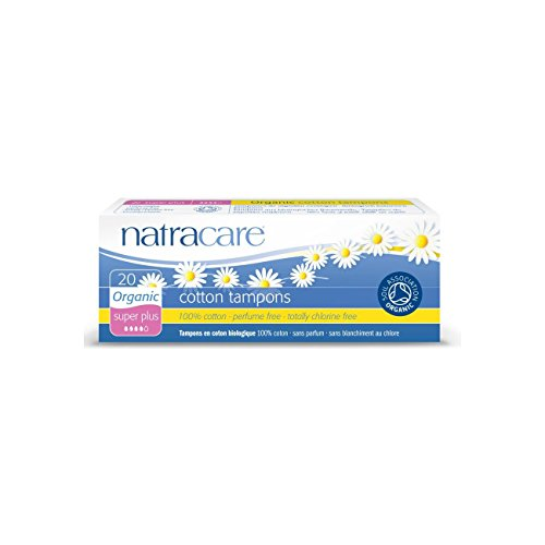 Natracare Organic All Cotton Tampons - Super Plus, 20 Stück