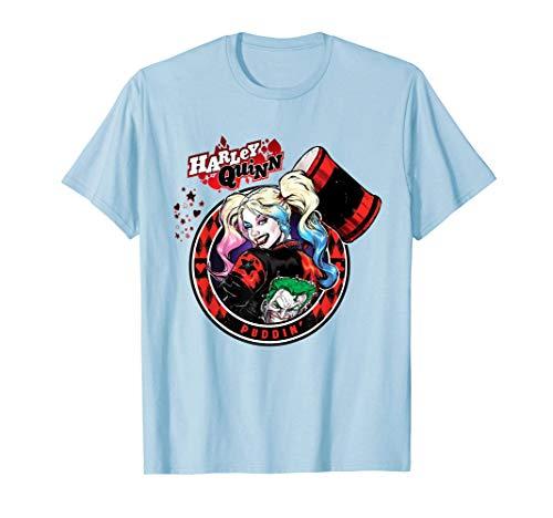 Batman Harley Quinn Joker Patch Camiseta