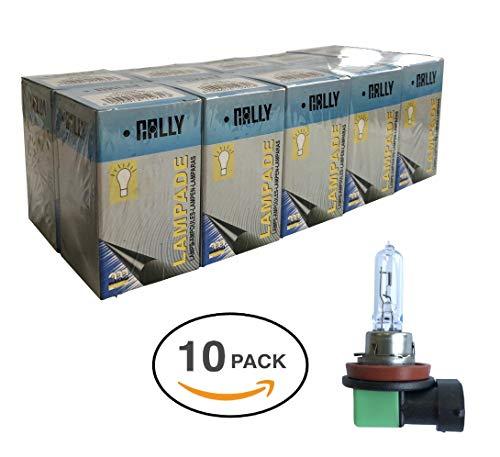 Melchioni Lampe 322399534 H9 12 V 65 W PGJ19 – 5-confezione de 10 unités, Lot de 10
