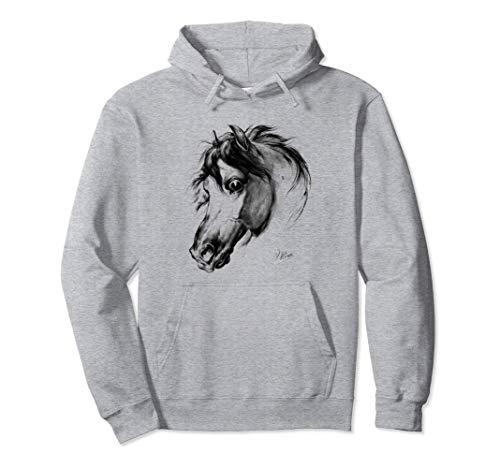 Amantes de los caballos Amantes de la equitación de época Sudadera con Capucha