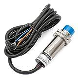 Sensor de proximidad capacitivo de Heschen LJC18A3-B-Z/AX, interruptores de 1 a 10 mm, 6 a 36 VDC, 300 mA, NPN normalmente cerrado (NC), 3 alambres