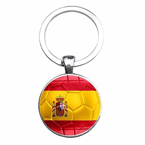 Ahomi Copa Mundo Bandera país Llaveros Aficionados