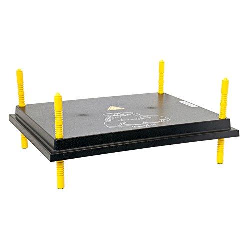 Küken-Wärmeplatte Comfort 40x50cm, 50 Watt, Heizplatte, Heizmatte, Kükenwärmer, Heizkabel, Inkubator, Kunstglucke, Wärmebirne