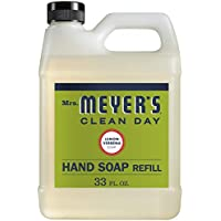Mrs. Meyer's Liquid Hand Soap Refill Lemon Verbena Scent 33 Ounce