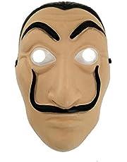 Funny Mask La Casa De Papel Masks Men's Salvador Dali Mask Money Heist The House of Paper Latex Party Full Mask adult Hallowe