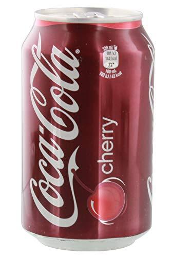 Coca Cola 'Cherry' 72 x 0,33l Dose XXL-Paket (Cherry Coke)