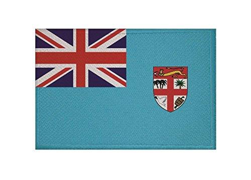 U24 Aufnäher Fidschi Fiji Fahne Flagge Aufbügler Patch 9 x 6 cm