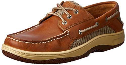 Sperry Top-Sider Billfish 3-Eye Boat Shoe Men 13 Dark Tan
