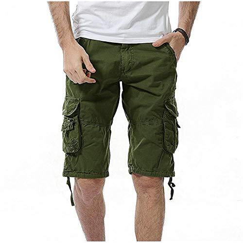 Pantalones Cortos Deportivos Nuevos Pantalones Cortos Casuales De Verano para Hombre, Pantalones Cortos De Camuflaje Ajustados De Algodón para Hombre, Bermuda Masculina 31 Arm