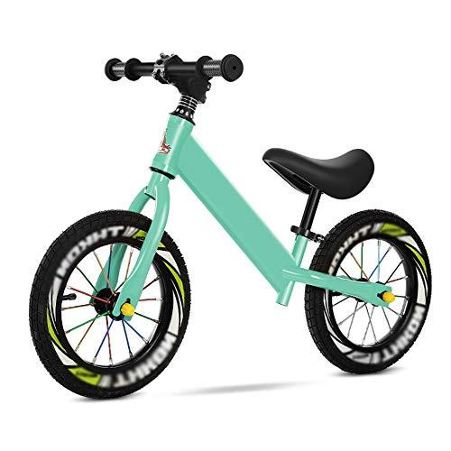 LYXCM Bicicleta Sin Pedales Ultraligera, Bicicleta De Entrenamiento Deportivo Sin Pedal con Equipo De Protección para Niños De 2 A 8 Años Niños Niñas