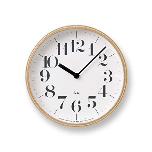 Lemnos (レムノス) 掛け時計 ナチュラル S WR-0401S