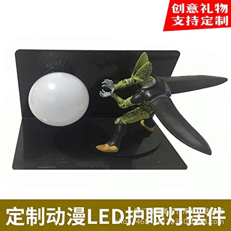 CXQ Dragon Ball Sun Wukong handgefertigte kreative Tischlampe führte Schreibtischlampe Auge Lampe leuchtendes Spielzeug kreatives Licht, Dragon Ball Qigong Bombe 07