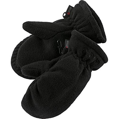 etirel Kinder Fleece Handschuh Fäustel Garazzo jrs schwarz, Größe:4