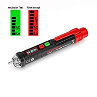 SP-Cow Detector de Voltaje sin Contacto, 12V-1000V Detector De Tension, Elect...