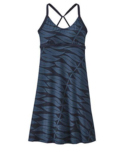 Patagonia Damen W's Sundown Sally Dress Kleid, Eukalyptuswedel: Neue Marine, M