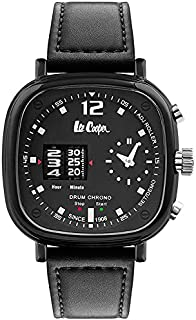 Lee Cooper Men'S Chronograph Black Dial Watch Lc07003.351