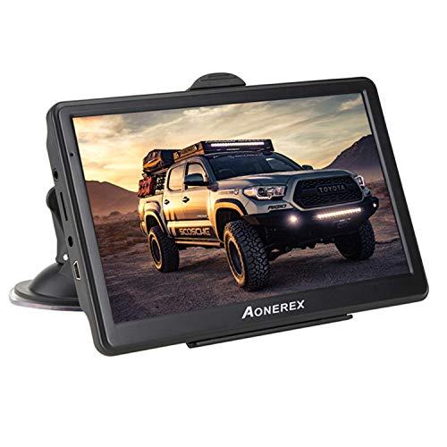 GPS Voiture Auto Navigation 7 Pouces HD Écran Tactile...